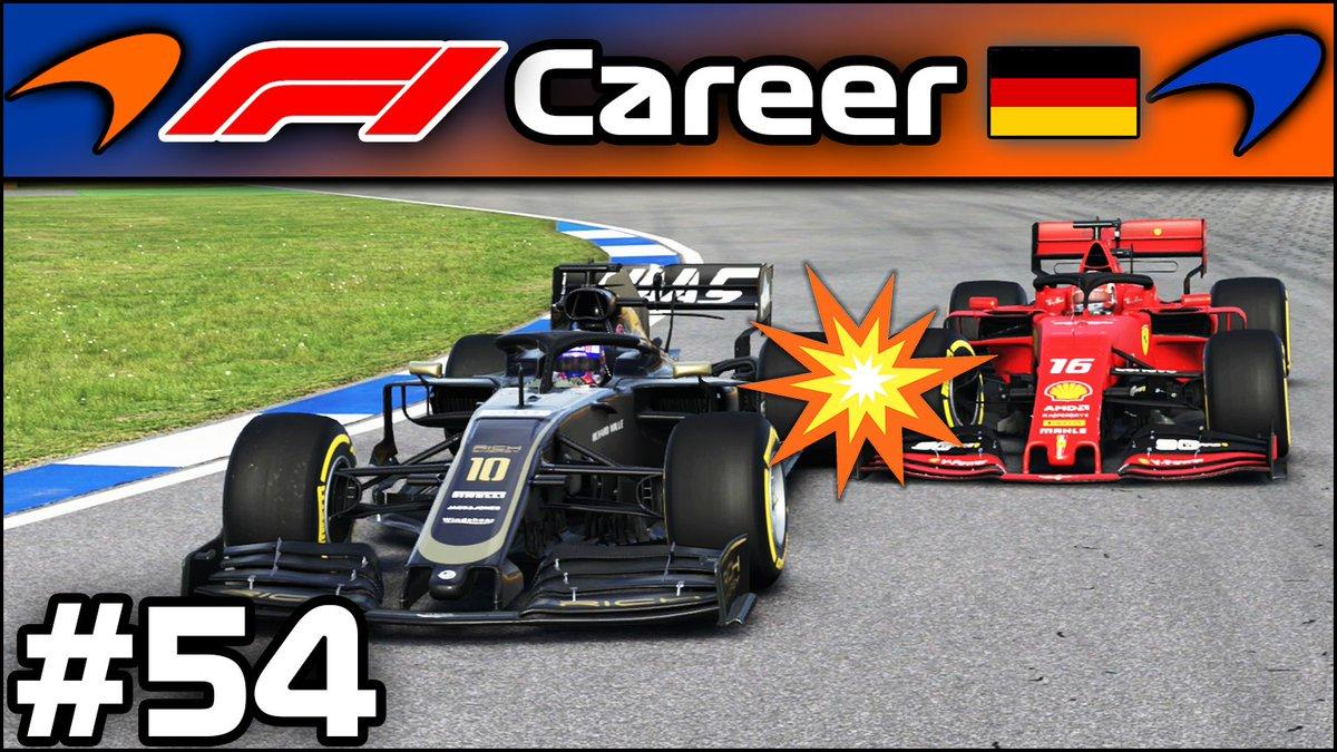 🔽Neues Video🔽 Willkommen im verregneten Hockenheim, mit extremer Pace und viel Glück aber wie weit kann ich es schaffen? VIEL Glück ist heute dabei!!!    ➡️ https://buff.ly/382Hrmq  #F1 #Formel1 #F12019 #Career #New #GermanGP #Gaming #iToJu #Pace #McLaren #Germany #Youtube