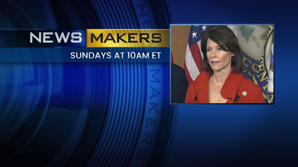 #Newsmakers with @DCCC Chair, Rep. Cheri Bustos (@RepCheri), questions @HotlineJosh & @nataliewsj - LIVE shortly on C-SPAN c-span.org/video/?468016-…