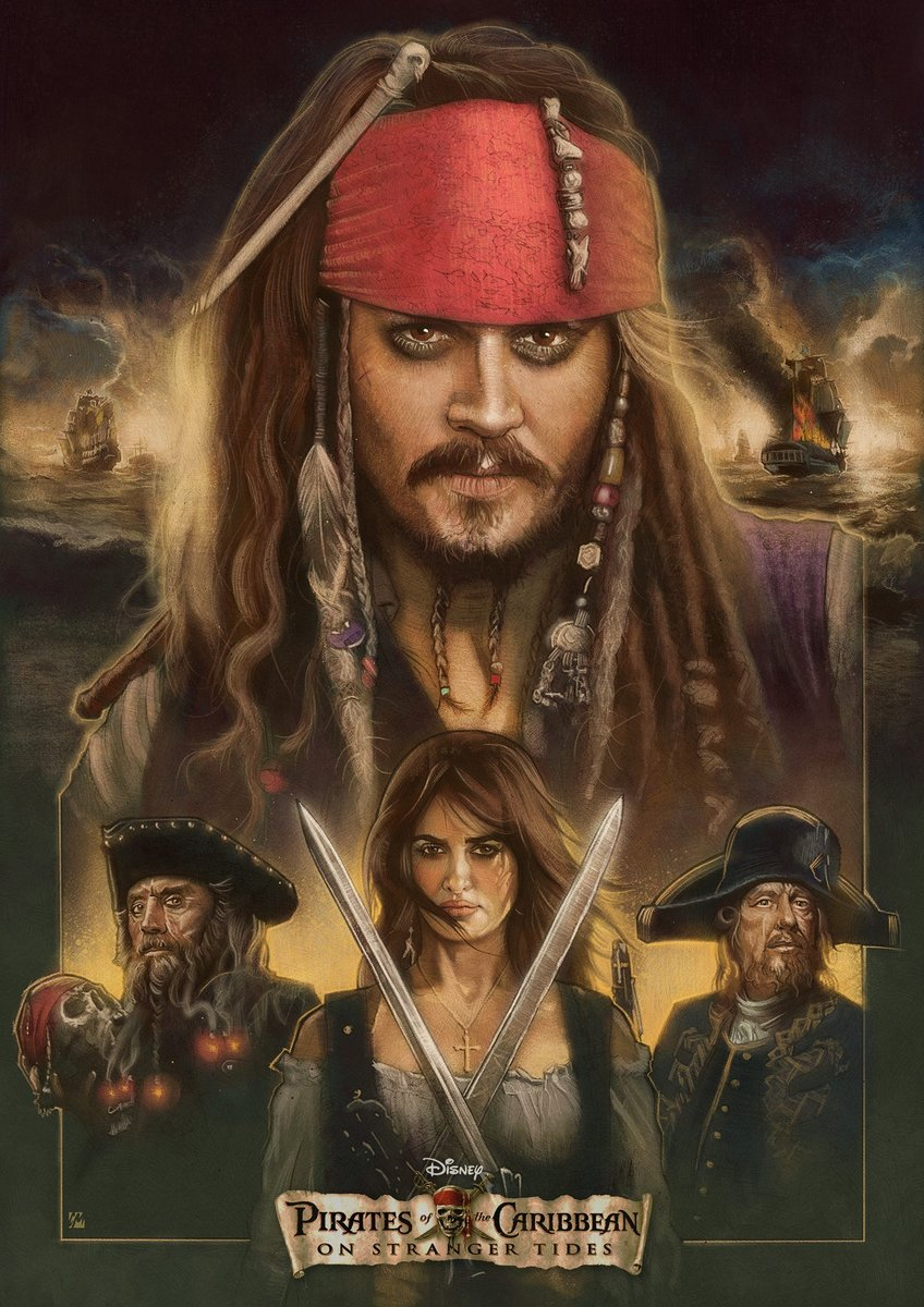 Posterspy Com On Twitter Pirates Of The Caribbean On Stranger Tides 2011 Poster Uploaded By Colinmurdochart View Hq Https T Co 9xlqxwy9fb Piratesofthecaribbean Johnnydepp Movieposters Posterspy Https T Co Eod2sgiw0x