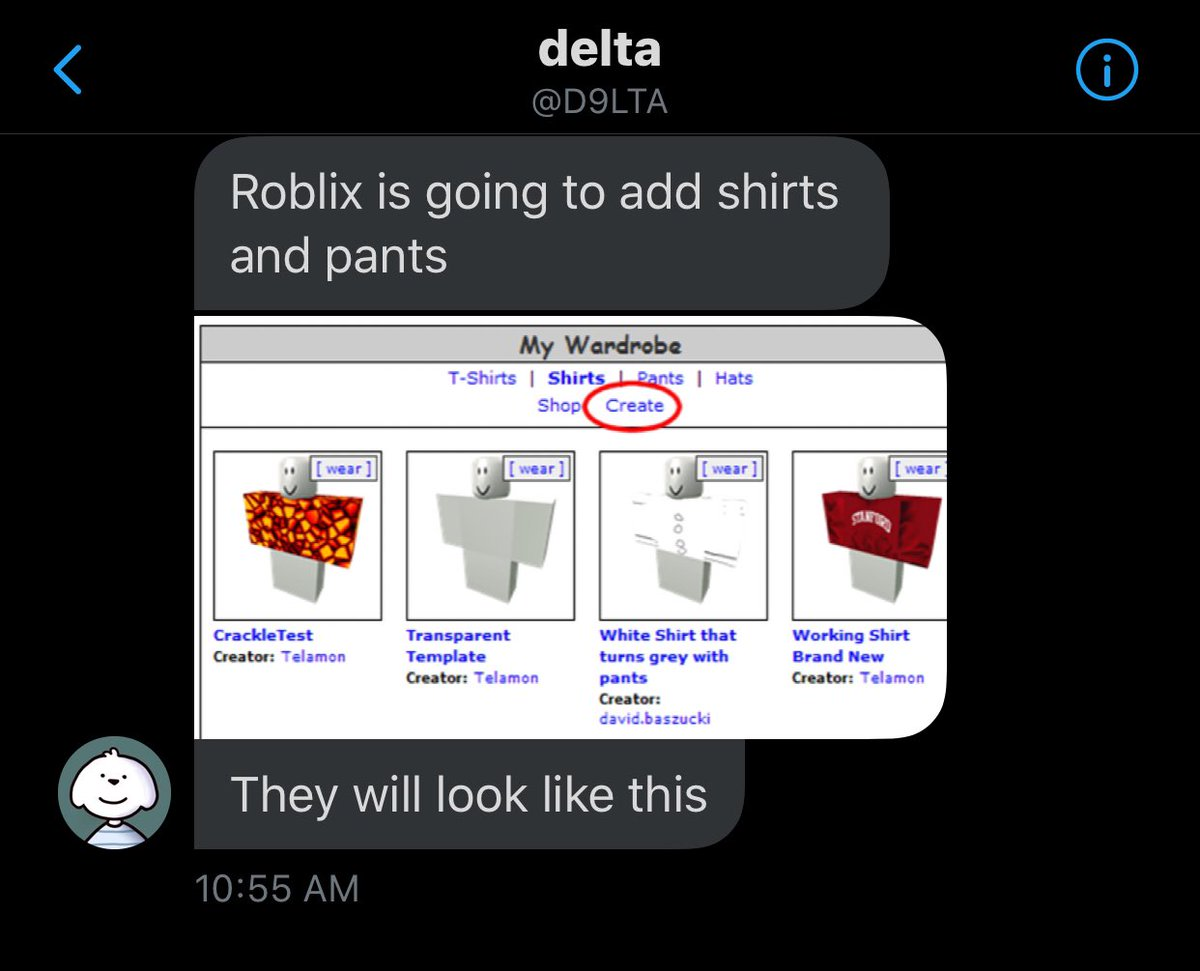News Roblox On Twitter Roblox Adding Shirtd And Pants They
