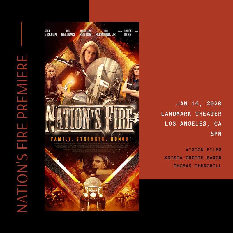 Red carpet #premiere this Thursday. RSVP here: evite.com/event/02D2XHV2… #nationsfire #moviepremiere #borntoride
