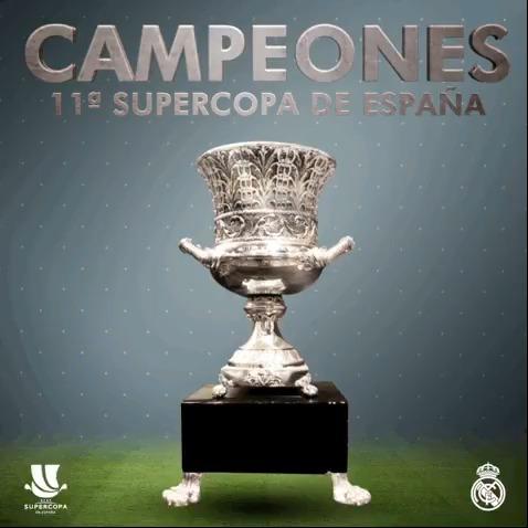 🏆🇪🇸 ¡SUPERCAMPEONES DE ESPAÑA! 🙌 ¡HASTA EL FINAL! #RMSuperCopa   #Supercampeones