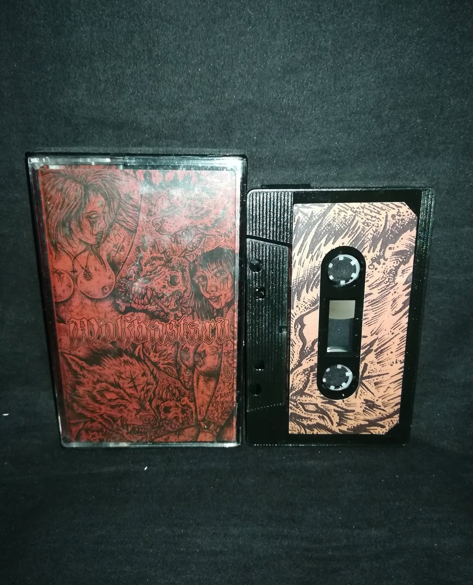 "#Wolfbastard #England ""Wolfbastard""   4€+postage⁠ ⁠ warproductions@gmail.com⁠  http://www.war-productions.org   #WarProductions⁠ #Mailorder⁠ #SupportTheUnderground⁠ #BlackMetalTapes #TapeKvlt⁠ #TapeFormat #TapePorn #BlackMetalCollection pic.twitter.com/eDiWTvxu6u"
