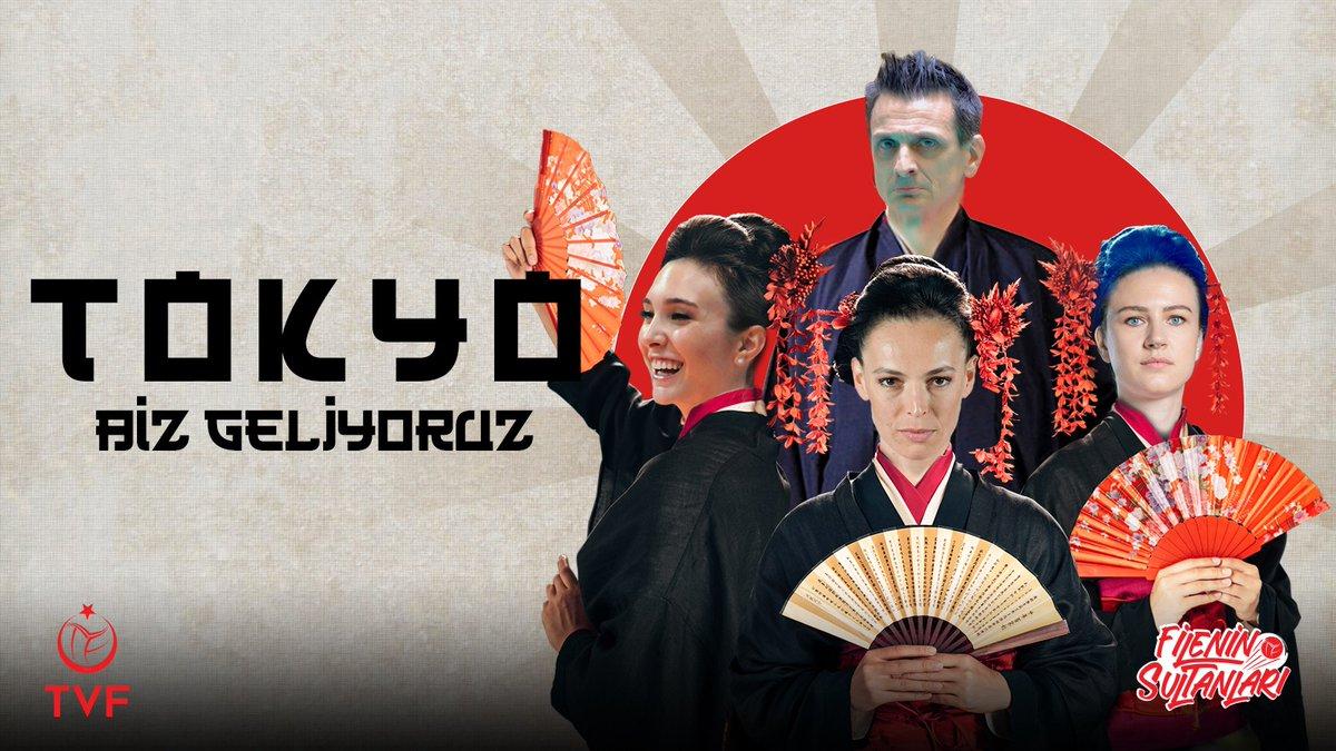 Tokyo, biz geliyoruz! 🇹🇷#FileninSultanları #RoadtoTokyo