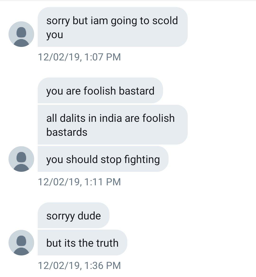 Sanskari Abuser, started with apologizing!