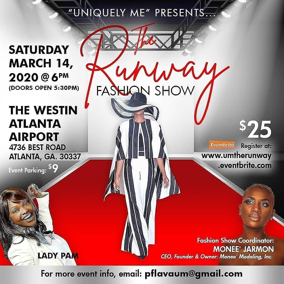 U Don't Want 2 Miss This Go Register Now. #TheRunway #Empowering #Inspiring #Motovating #Encouraging #Epic #UniquleyMe #Fashion #Entertainment #Event #Beauty #Wellness #Entrepreneur #Leadership #Branding #Vision #Purpose #Passion #Goals #Dream https://umtherunway.eventbrite.com pic.twitter.com/F8vPRxP4ae
