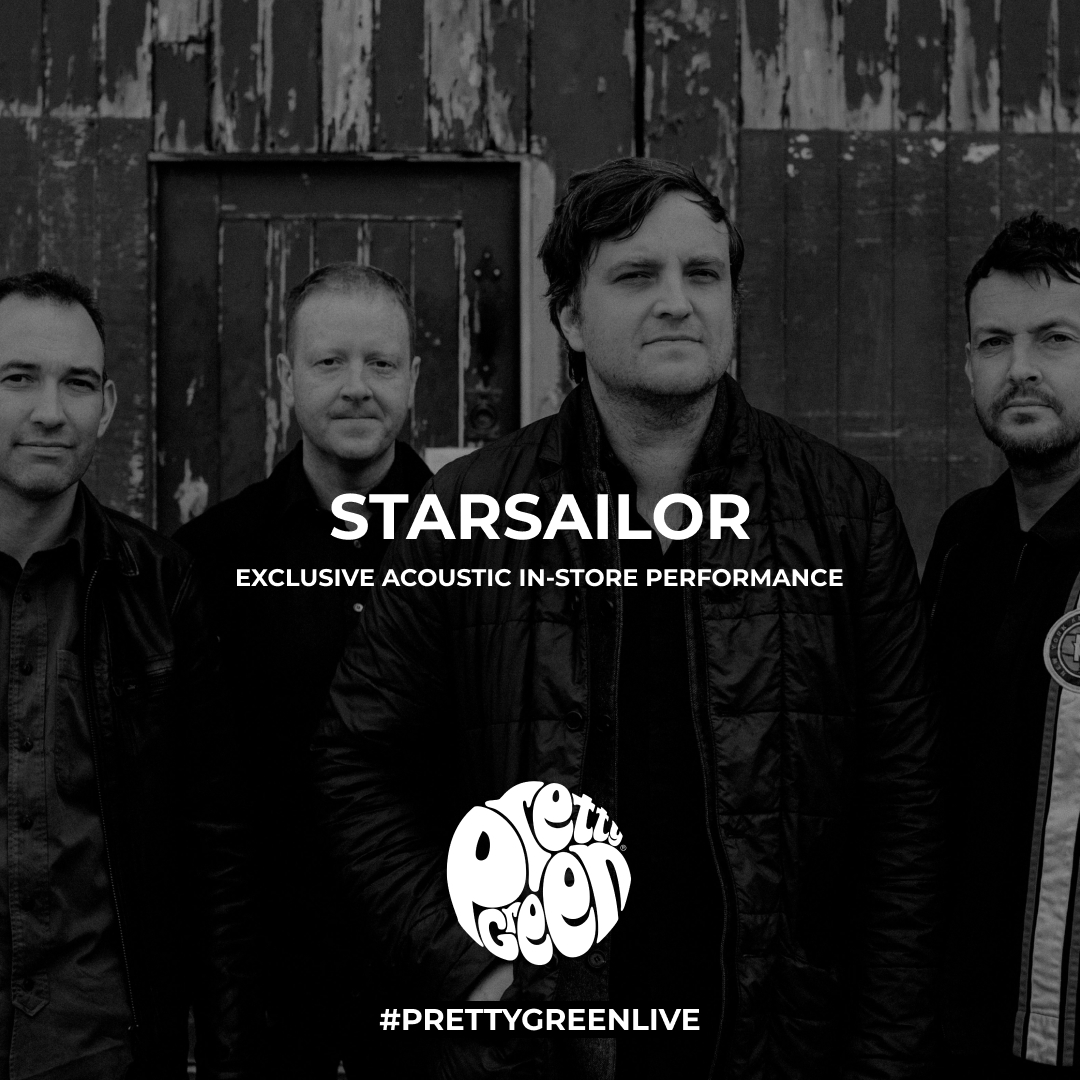 WIN: A pair of tickets to Starsailor exclusive live performance at the Pretty Green Manchester store. Apply here: http://bit.ly/36Mu8WF