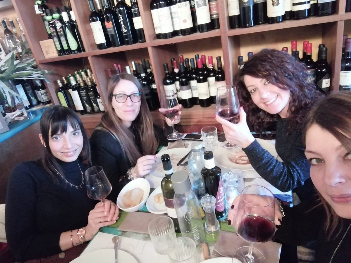 #lalchimista #montefalco #umbria #borghese #pranzotop #grazie 🍴🍷