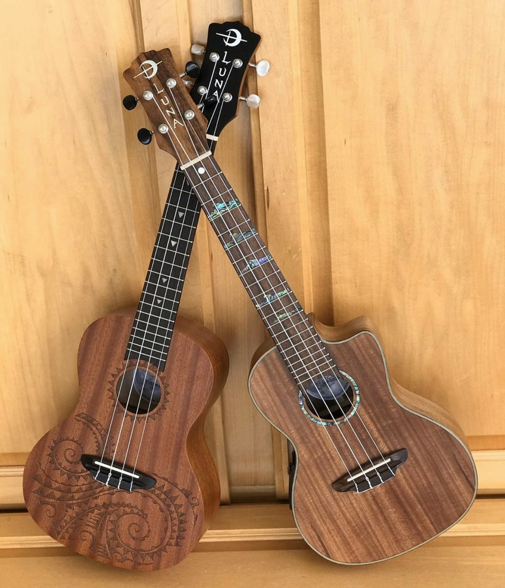 Poll: Which ukulele is your favorite!? Uke Tattoo Concert Mahogany or High Tide Concert Koa - Go!  #SundayFunday #LunaTribe #LunaUkes<br>http://pic.twitter.com/AUf4AizY9K