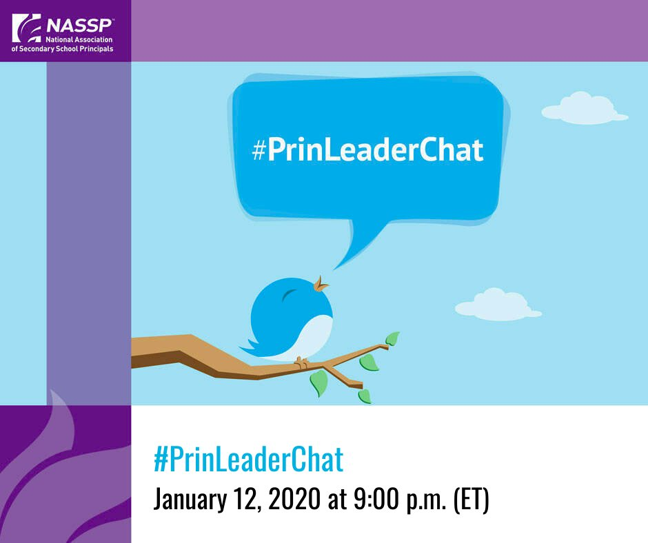 Join @bobby__dodd tonight for a #PrinLeaderChat at 9:00 p.m. (ET).