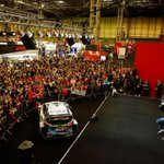 Great day at the Autosport International Show here in Birmingham 🇬🇧 Seeing so many racing cars makes me even more excited for pre season testing 🏎