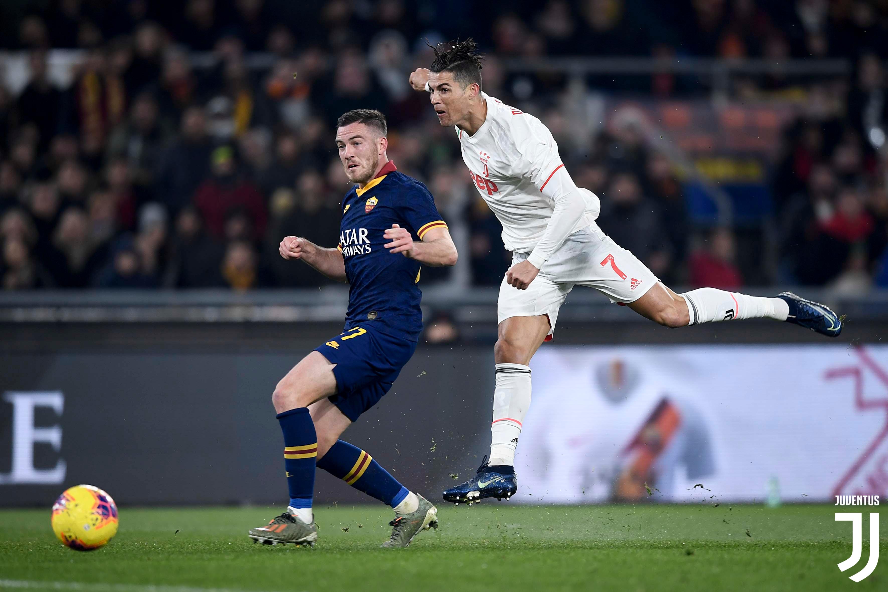 رونالدو يقود يوفنتوس للانتصار ثمين امام روما في قمّة ايطالية نارية