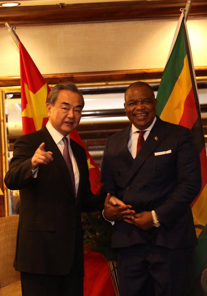 """Lijian Zhao 赵立坚 on Twitter: """"Zimbabwe Vice President ..."""
