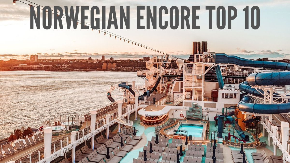Oh my goodness, we had such a great time exploring Norwegian Cruise Lines newest ship the Encore. Check out the 10 things I loved!  http://bit.ly/RWtravelvideos   What is your ideal cruise destination??? #norwegianencore  #cruisevacation  #cruisetravel  #cruiselife  #norwegiancruiseline