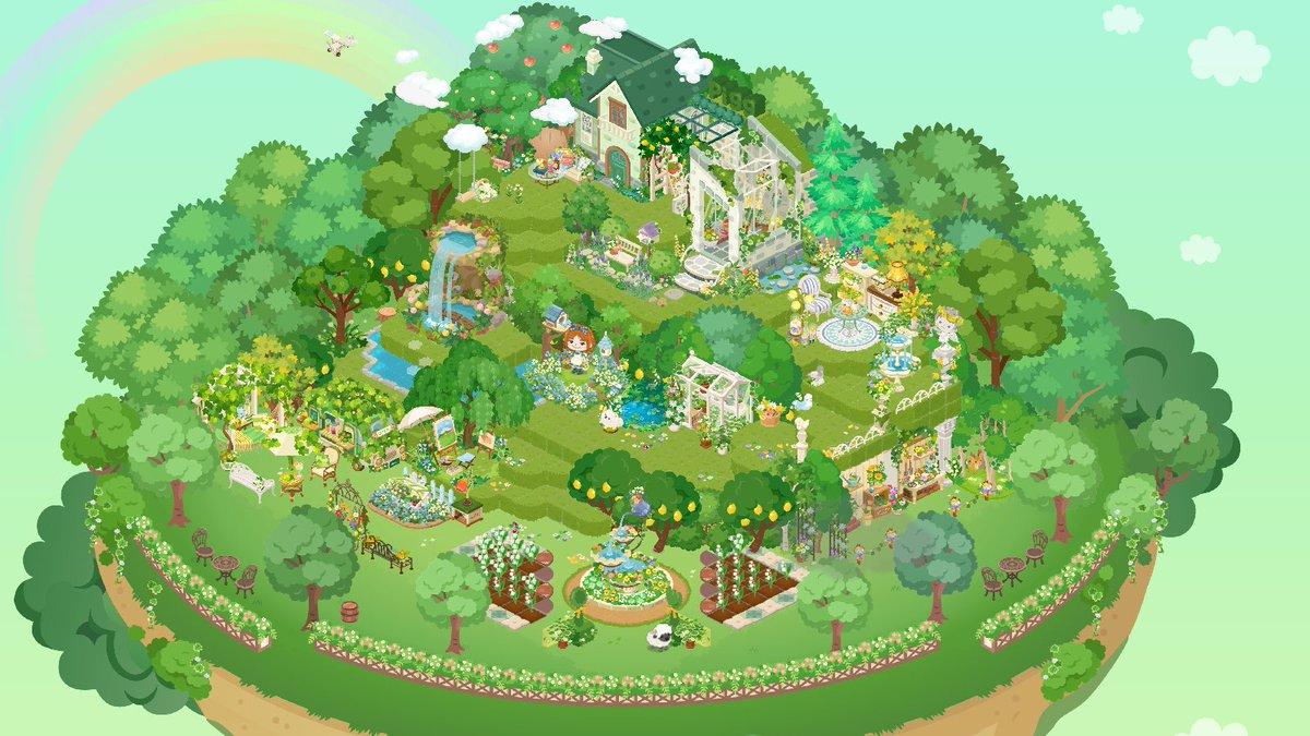 ピグライフ ふしぎ な 街 の 素敵 なお 庭