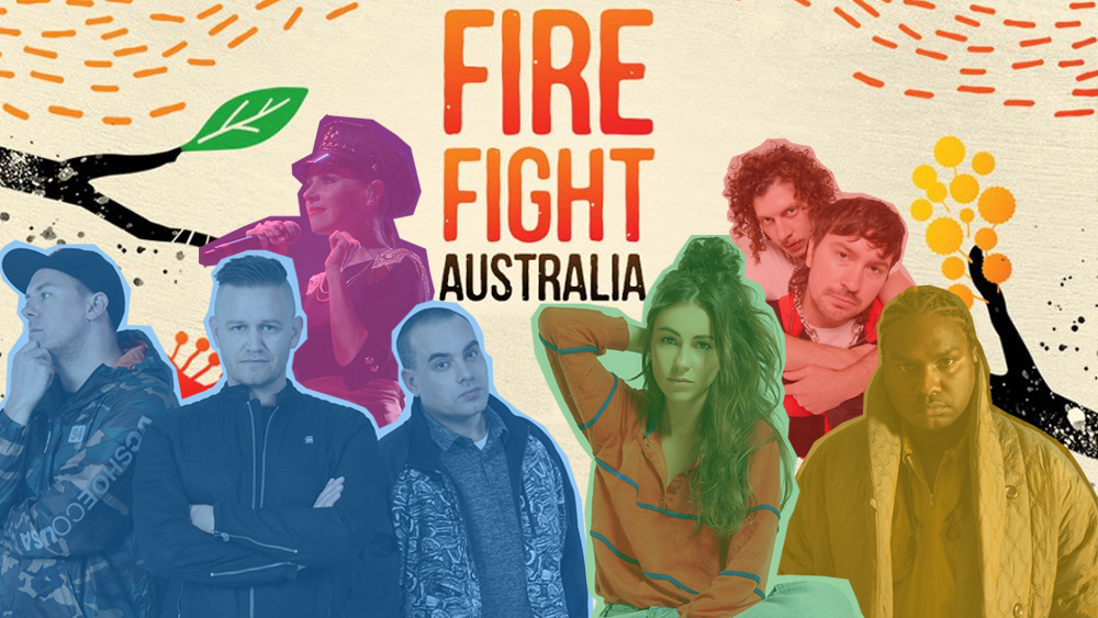 Fire Fight Australia is a bushfire relief concert with an all-star line-up ab.co/30c3qEG