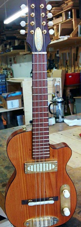 Nic Delisle Island Instrument Manufacture electric taropatch ukulele