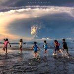 [フィリピンのタール火山が噴火]避難勧告前の写真・被害がない事を祈ります!