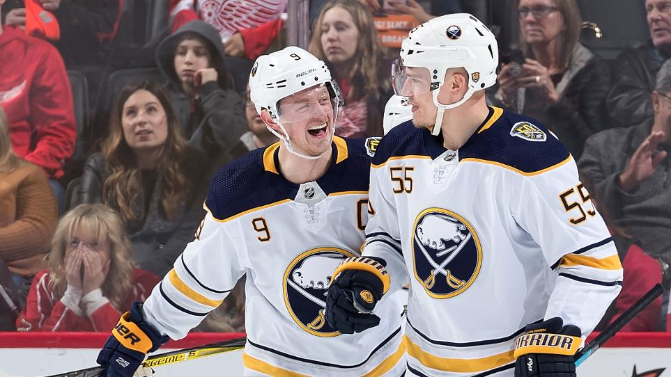 Sabres defeat Red Wings, 5-1