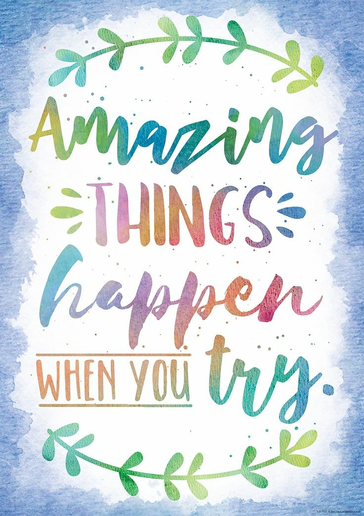 #Amazing Things Happen When You Try.  #dailyinspiration #MondayMotivation #mindsetiseverything #PositiveVibesOnly #beyourbest #youmatter #GoldenHearts #JoyTrain  #FamilyTrain  #ThinkBIGSundayWithMarsha<br>http://pic.twitter.com/NMKihnzwTP