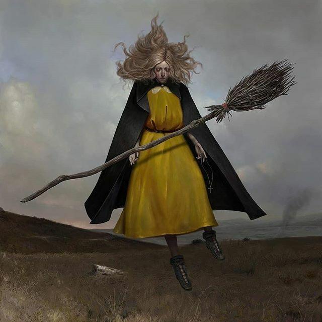 'The Witch' by Igor Krstic (@artofigorkrstic) • #igorkrstic #witch #digitalpainting #fantasyart #witches #digitalartwork #witchaesthetic #darkartworks #horrorart #darksurrealism #illustrationlove #darkartists https://ift.tt/2t2M1Ckpic.twitter.com/PC4wMjNC6y