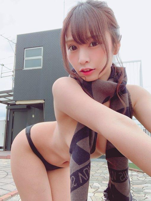 グラビアアイドル葉月佐和のTwitter自撮りエロ画像20