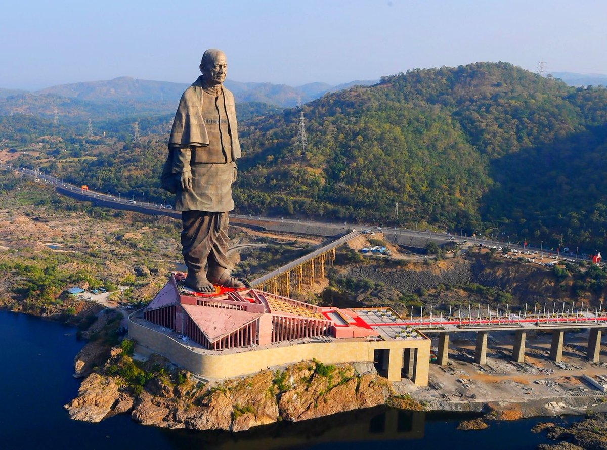 Statue of Unity among 8 wonders of SCO countries