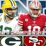 Image for the Tweet beginning: .@AaronRodgers12 vs. @JimmyG_10.  @Packers vs. @49ers.  The