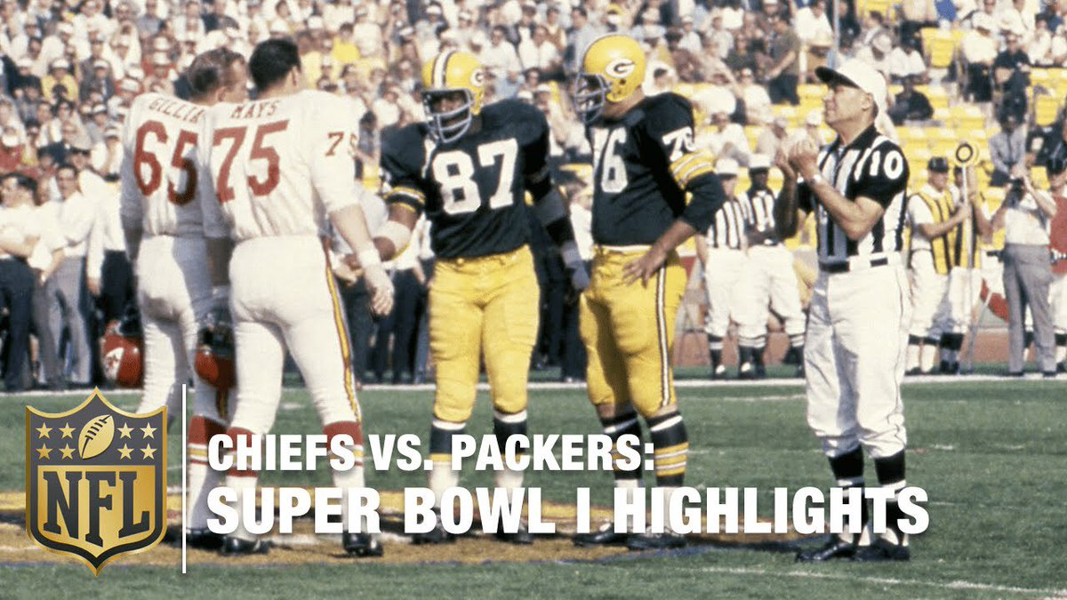 NFL 100th Anniversary. How fitting would this be  #PackersVsChiefs #SBLIV