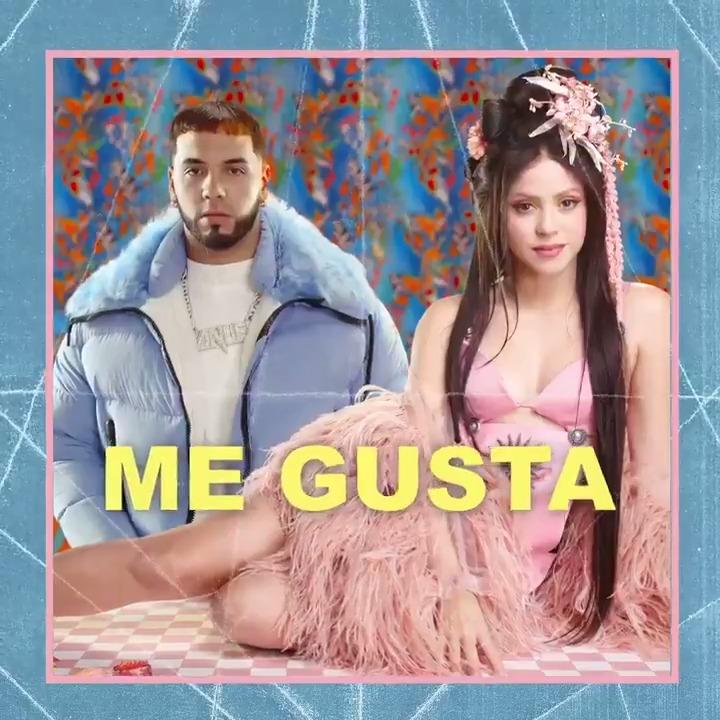YA DISPONIBLE!!! OUT NOW!!! Me Gusta El nuevo sencillo / The new single Shakira & @Anuel_2bleA ESCUCHAR EN / LISTEN AT https://smarturl.it/ShakiraxAnuelAA