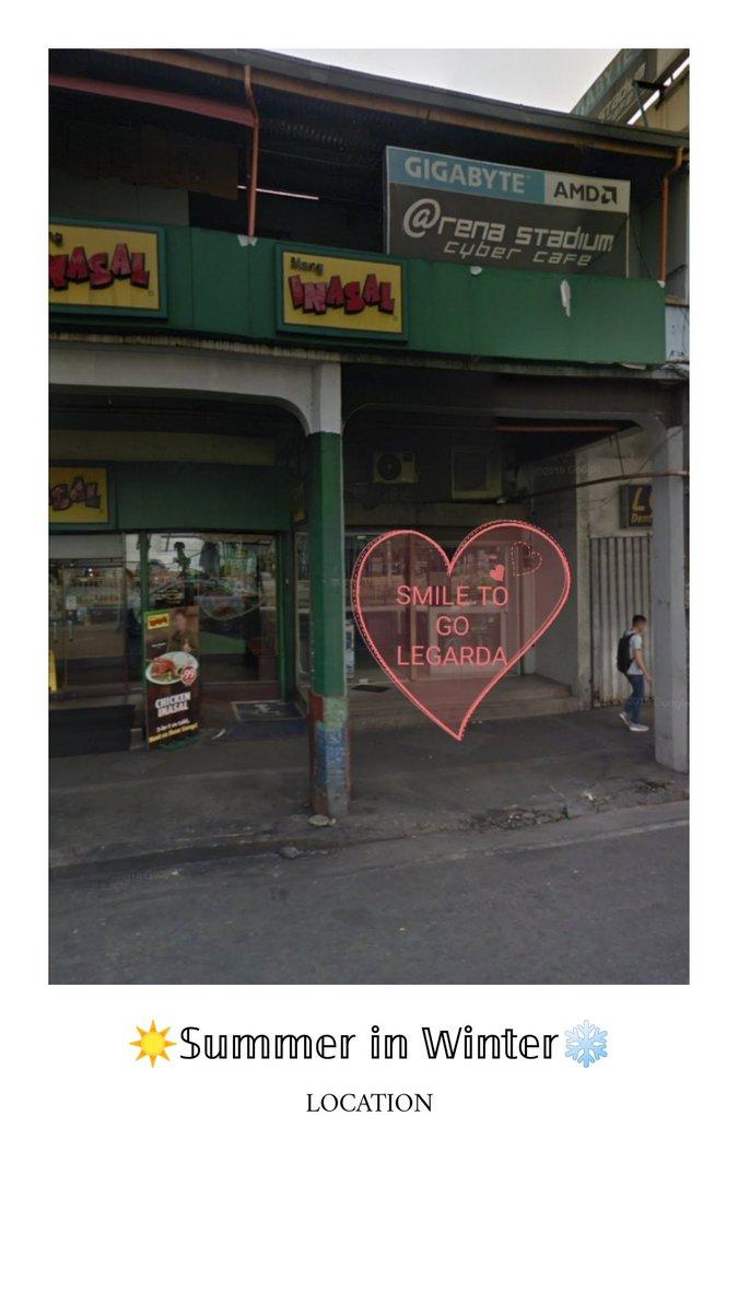 𝕊𝕦𝕞𝕞𝕖𝕣 𝕚𝕟 𝕎𝕚𝕟𝕥𝕖𝕣  FAQs | LOCATION  SMILE TO GO - LEGARDA MANILA BRANCH Near: Mendiola Peace Arch  Retaurants from mendiola peace arch to smile to go: Jollibee - > Chowking - > Mang Inasal - > Smile to Go Legarda  #kimjaejoong #SummerinWinter #SUMMERINWINTERKJJ pic.twitter.com/S9QDndN4nU