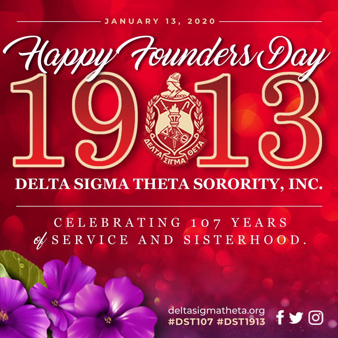 #DST107 🔺Celebrating 107 years of sisterhood, scholarship, and service! 🔺#DST1913