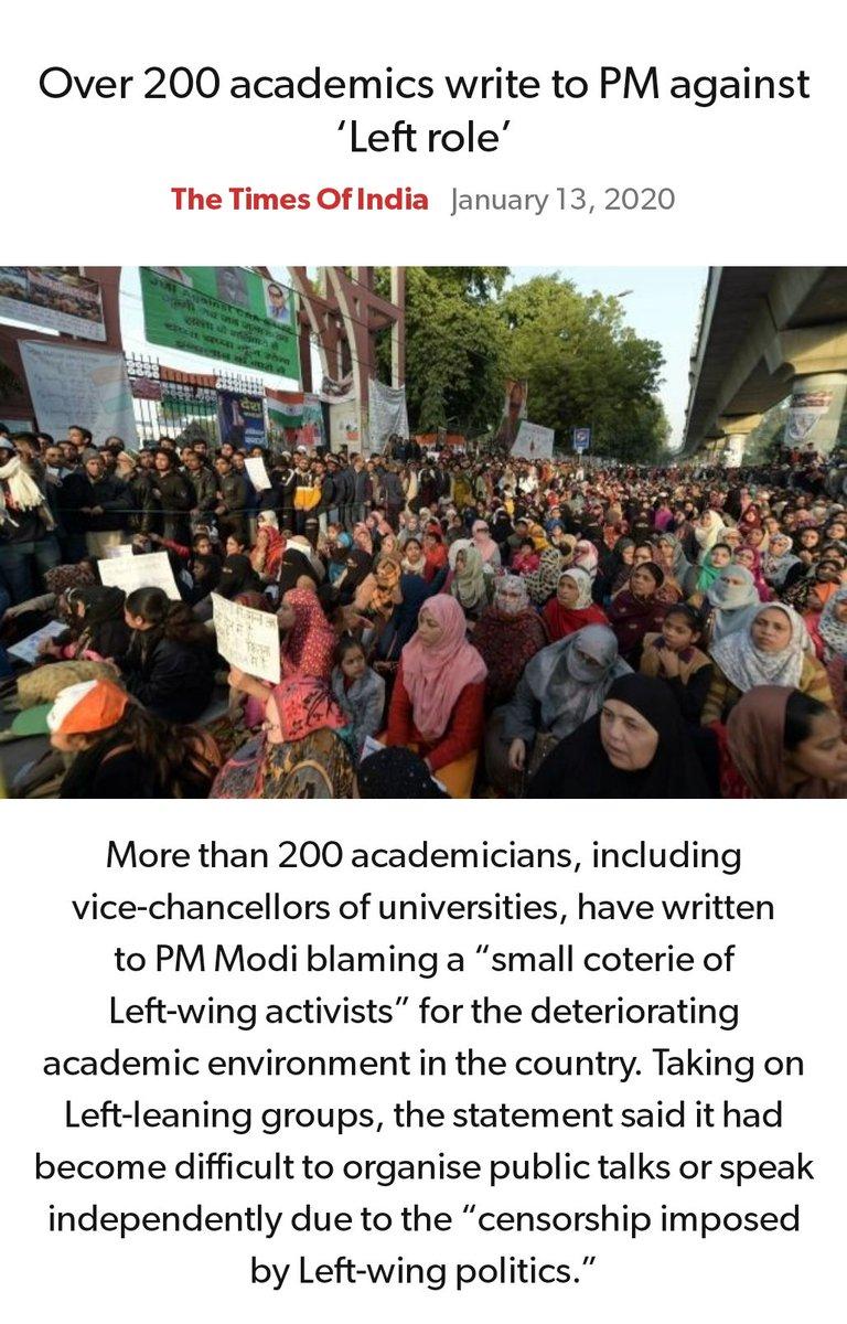 #MeraParivarBhajpaParivar #BarBarNamoNamoNamo #IndiaSupportCAA_NRC #Support_ILP   Over 200 academics write to PM against 'Left role' https://timesofindia.indiatimes.com/articleshow/73219861.cms?utm_source=contentofinterest&utm_medium=text&utm_campaign=cppst…  via NaMo Apppic.twitter.com/V7UnM5uI57