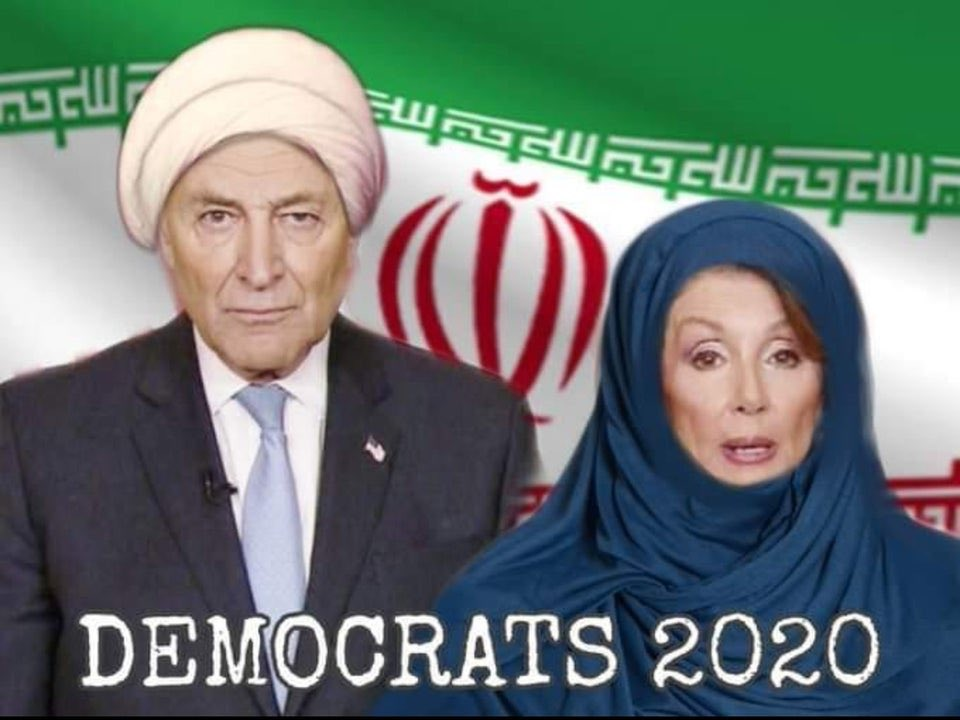 The corrupted Dems trying their best to come to the Ayatollah's rescue. #NancyPelosiFakeNews