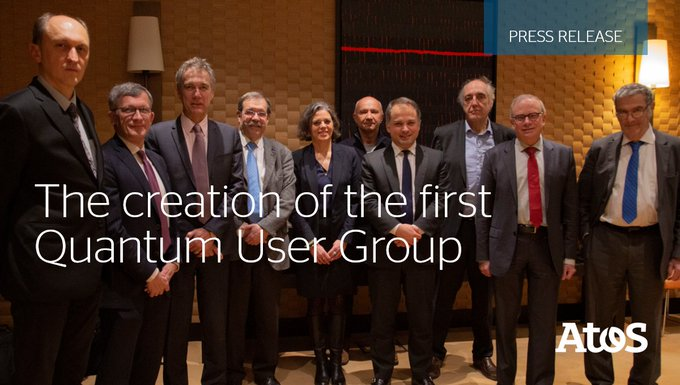 @Atosayudará con la creación del primer Grupo de Usuarios Cuánticos a desarrollar nuevos av...