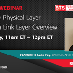 Image for the Tweet beginning: Webinar: #ATSC3.0 Physical Layer and