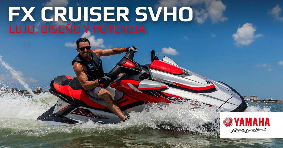 Lujo, diseño y potencia. Así es la nueva FX Cruiser SVHO de 2020. El mejor pasaporte hacia una navegación cómoda y rápida http://bit.ly/FXCruiserSVHO2020…pic.twitter.com/XkUVdKjOyc