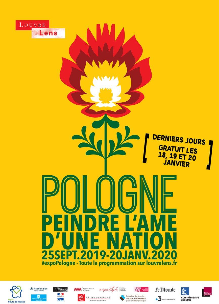 """Exposition """"Pologne 1840-1918. Peindre l'âme d'une nation"""" DERNIERS JOURS ! 🆓 GRATUIT LES 18, 19 & 20 JANVIER 2020  >>  #expoPologne"""