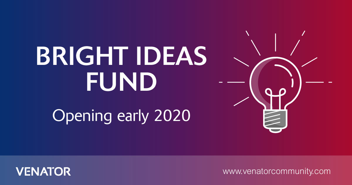 📢 COMING SOON 📢 Our Bright Ideas Fund is set to return in 2020, awarding grants to North East-based groups and organisations that inspire #innovation. Stay tuned for more information! venatorcommunity.com