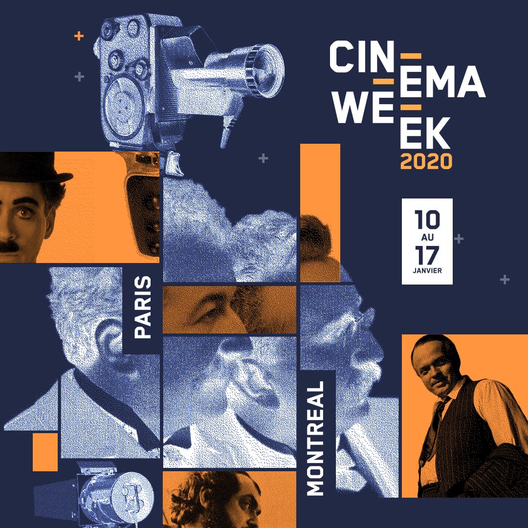 [ CINE WEEK 2020 ]   The #CineWeek, here we go again!    One week to create a film  2 sites Paris & Montreal  1 theme  1 Partner studio @mikrosanimation   160 studentspic.twitter.com/NaCfkDEvg9