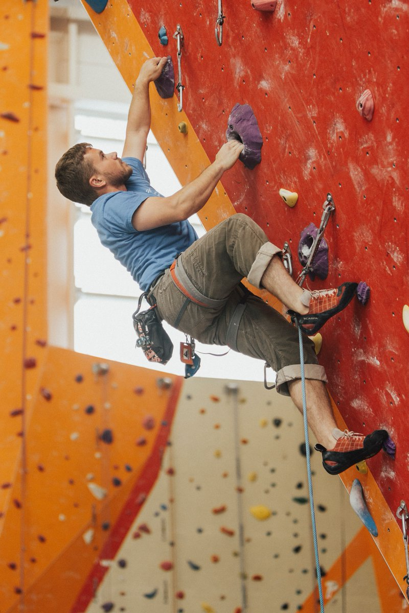 Indoor climbing venues are great this time of year when it's cold and dark outside.  The staff are typically friendly and helpful, if you want to learn more about climbing they're great people to ask!  #guidebase #climbing #sportclimbing #tradclimbing #toprope #leadclimbing