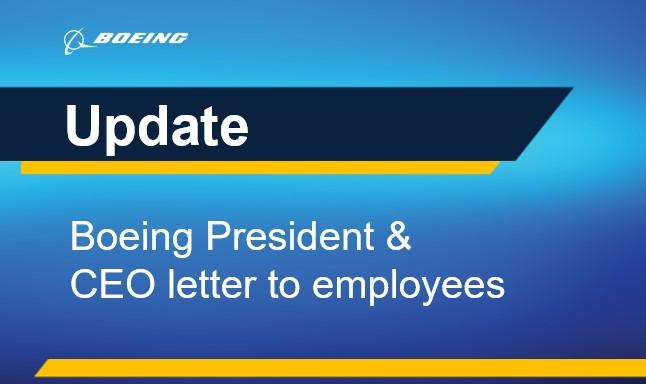 """""""I'm honored to lead the talented people of Boeing as we face our challenges. Working together, we will strengthen our safety culture, improve transparency and rebuild trust."""" -- Dave Calhoun, Boeing President & CEO    Read Calhoun's message to our team: https://t.co/zhytehoOuf https://t.co/kLmuvQ6NMW"""
