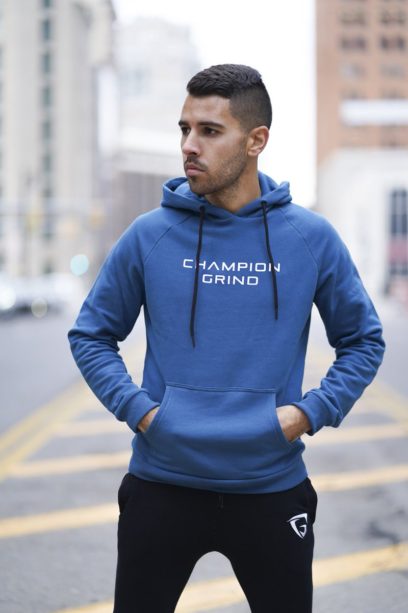 A hoodie you can always count on. A soft material blend with an always present comfort. Pick one up from the website!