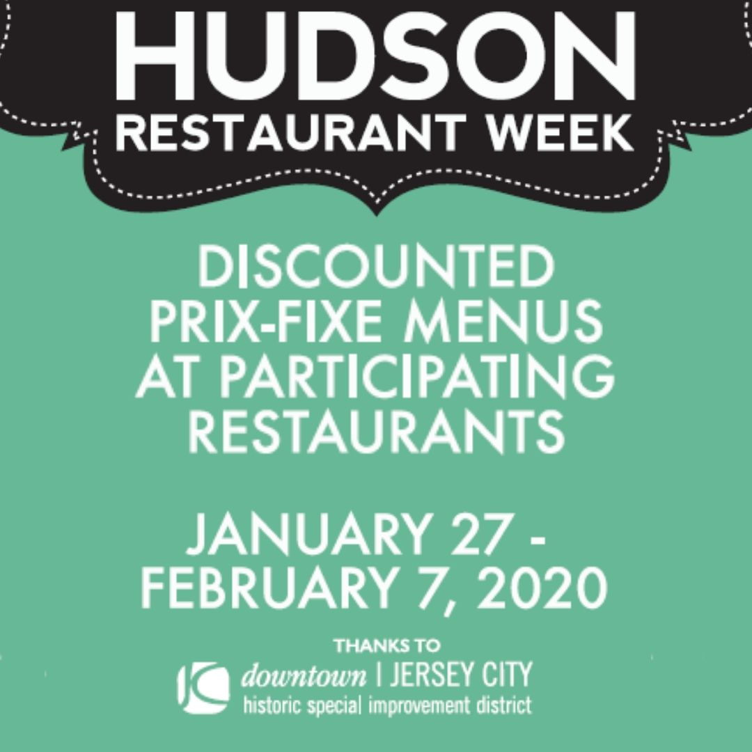 Hudson Restaurant Week Kick Off happening January 27, 2020! Plan out your dining trips as you return to local favorites and try out new places!@hudsonrestwk @HardGrove284@lathamhousejc @LB_BurgerBar Pasta dal Cuore@southhousejc #jerseycity