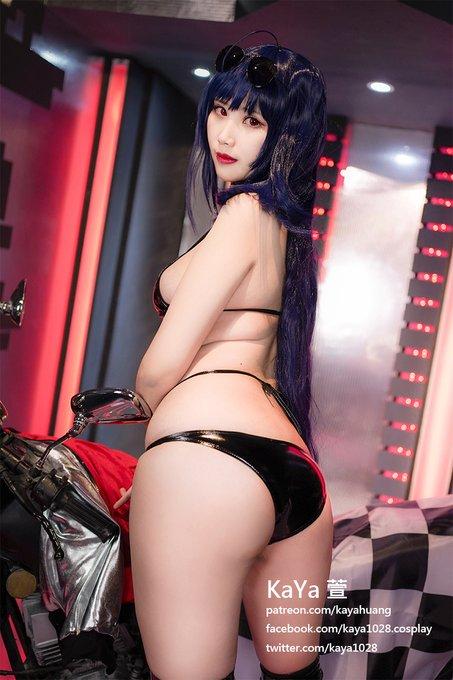 コスプレイヤーKaYa HuangのTwitter自撮りエロ画像18