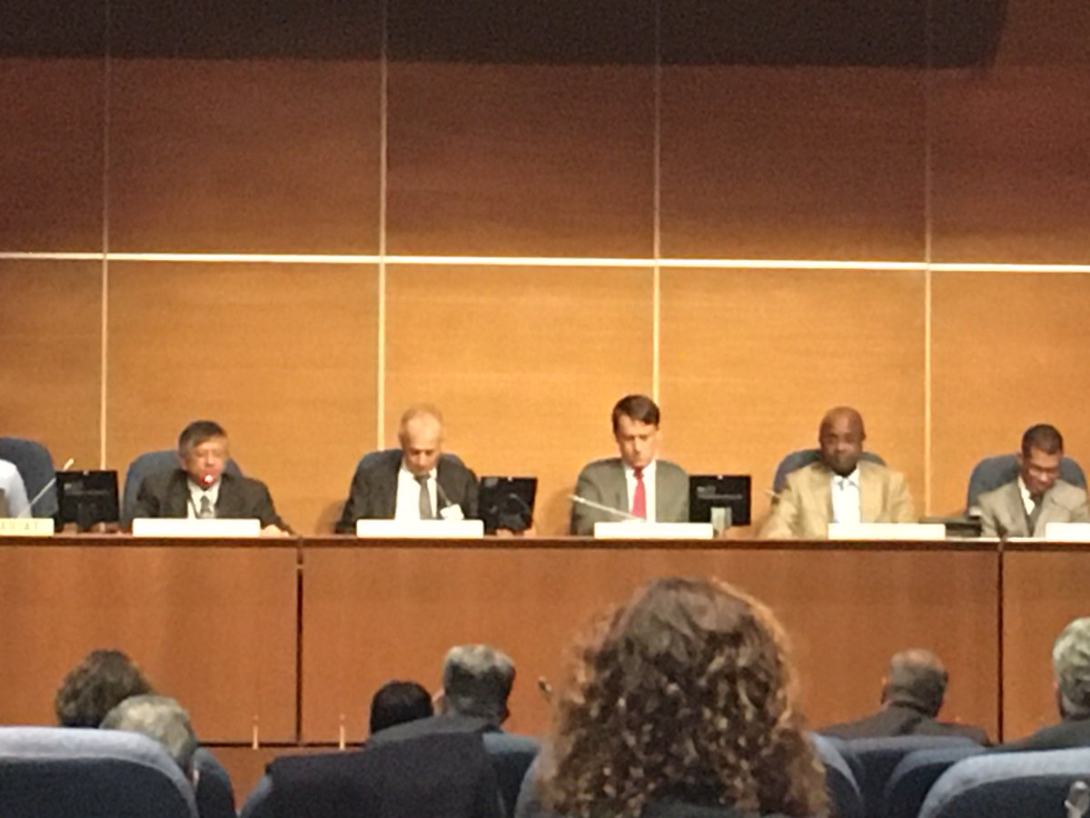 Congratulations to Urs Haldimann from Switzerland as chair of the ICAO Facilitation Panel, opening now!