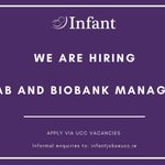 Image for the Tweet beginning: We are hiring! A Lab