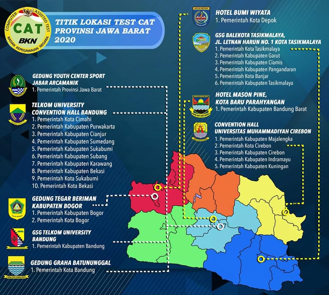 Jadwal dan Lokasi Tes Ujian SKD CPNS KAB KARAWANG 2019