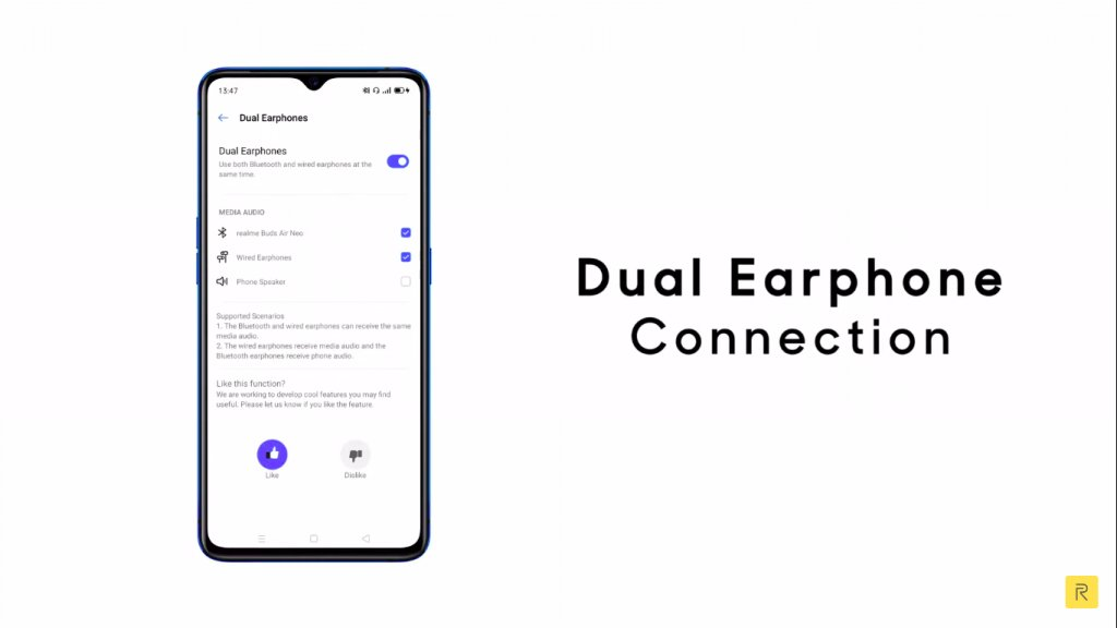 Realme Buds Air Neo засветились в ролике представляющим Realme UI