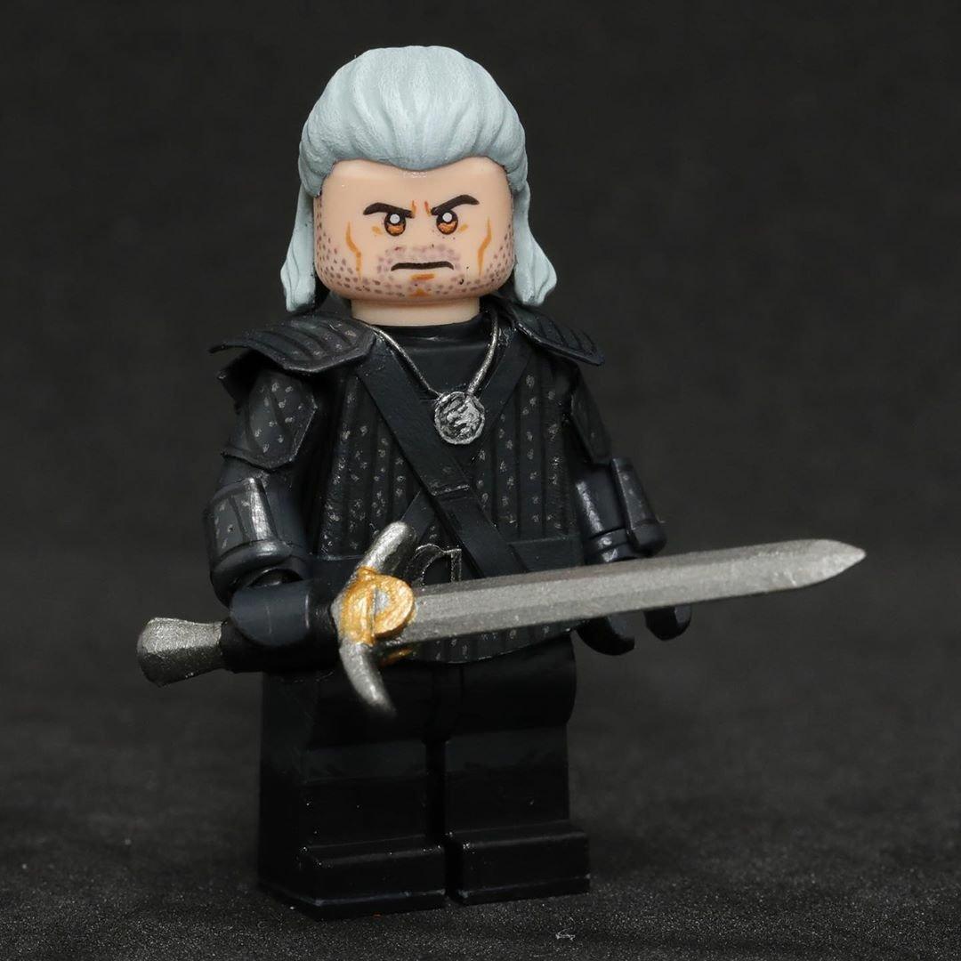 Лего ведьмак картинки